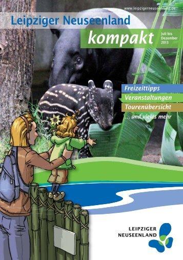 kompakt Juli bis - Leipziger Neuseenland