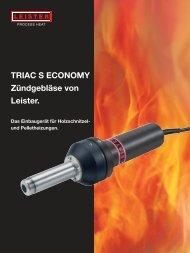 Triac S Economy - Leister