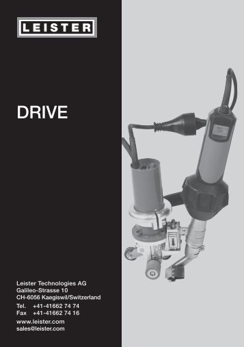 drive - Leister