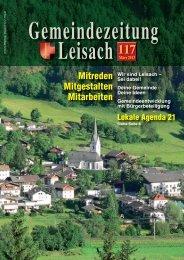 GZ117Leisach.pdf - Gemeinde Leisach - Land Tirol