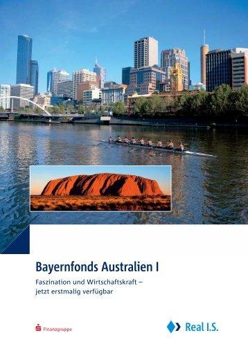 Bayernfonds Australien I - LEISTUNGSBILANZPORTAL