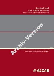 Archiv-Version - Leistungsbilanzportal