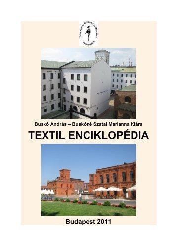Textílipari magyarázó szótár