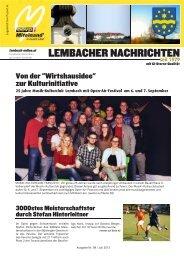 Lembacher Nachrichten Juli 2013 PDF