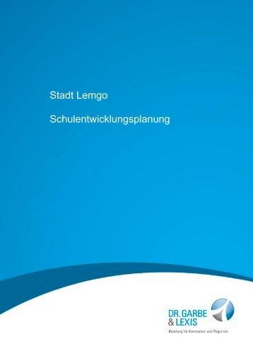 Den aktuellen Schulentwicklungsplan finden Sie - Lemgo