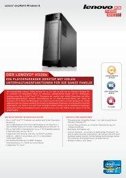 DER LENoVo® H520s