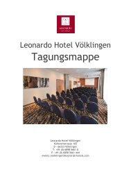 Tagungsmappe - Leonardo Hotels