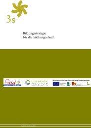 Bildungsstrategie für das Südburgenland - Lernende Regionen - in ...