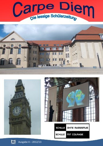Ausgabe 4 – 2012/13 - Musisches Haus des Sportgymnasiums