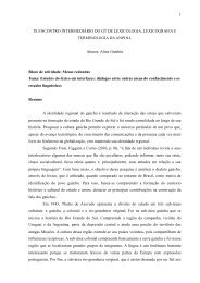 Aline Gambin - Faculdade de Letras - UFMG