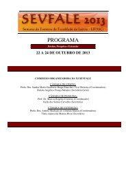PROGRAMA - Fale - UFMG
