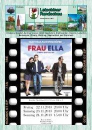 Kinoprogramm November 2013 - Gemeinde Letschin