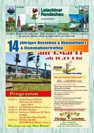 Mai 2013 - Gemeinde Letschin
