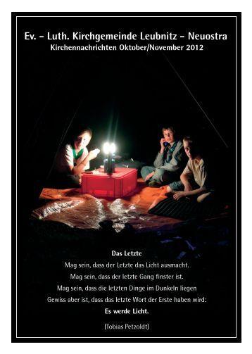 10-11 - Ev. - Luth. Kirchgemeinde Dresden-Leubnitz-Neuostra