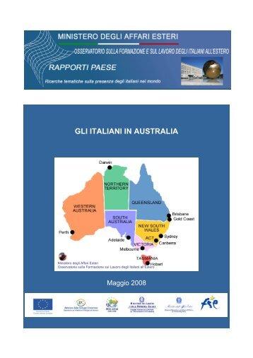italiane in Australia - Ministero degli Affari Esteri