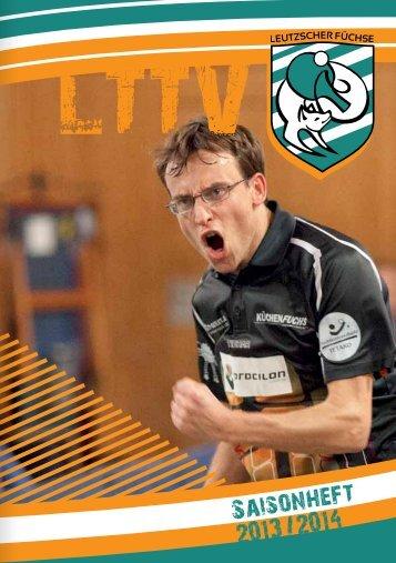 Saison 2013/2014 - Leutzscher Füchse