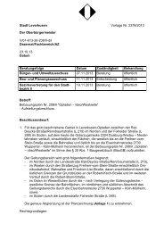 Bebauungsplan Nr. 208/II