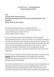 Rede zum Haushaltsentwurf 2014 - Stadt Leverkusen