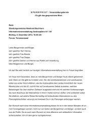 Rede Autobahnausbau OB Buchhorn091213 - Stadt Leverkusen