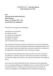 Rede Oberbürgermeister Reinhard Buchhorn - Stadt Leverkusen