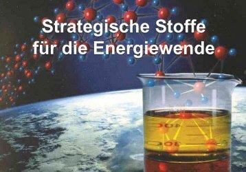 Strategische Rohstoffe für die Energiewende - LEW Forum Schule