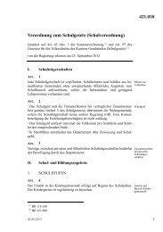 Erlass (PDF) - Kanton Graubünden
