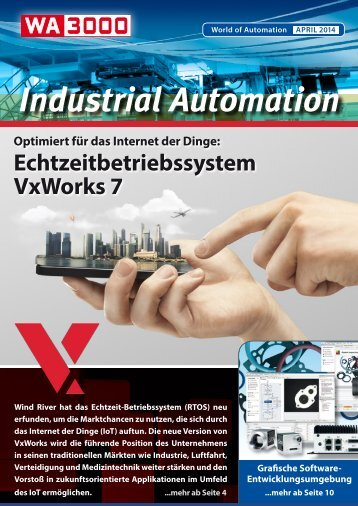 WA3000 Industrial Automation April 2014