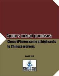 Reports - China Labor Watch