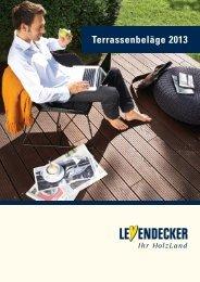 Katalog Terrassenbeläge 2013 - Leyendecker