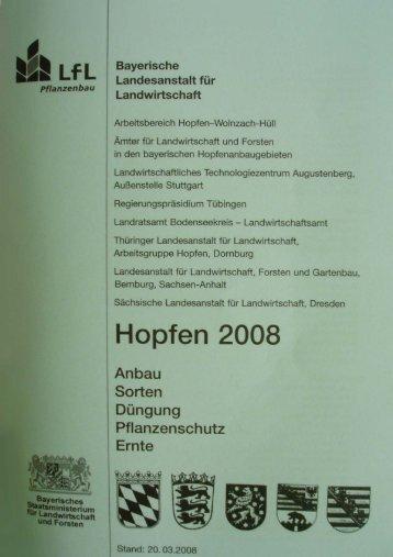Grünes Heft 2008 1,3 MB - Bayerische Landesanstalt für ...