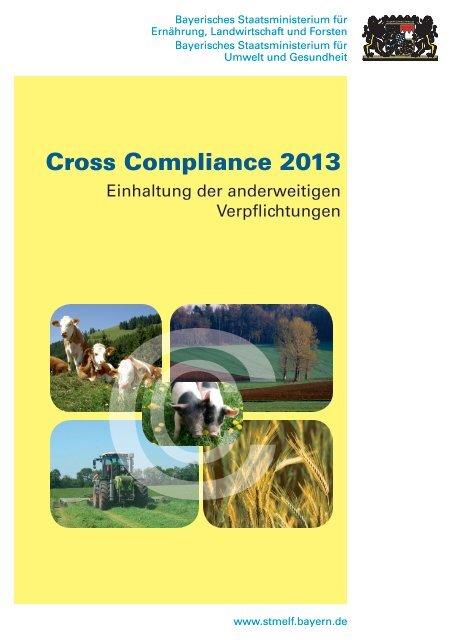 Cross Compliance 2013 Bayerische Landesanstalt Fa R Landwirtschaft