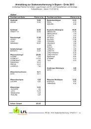 Anmeldung zur Saatenanerkennung in Bayern 2013 37 KB