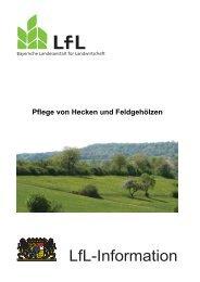Pflege von Hecken und Feldgehölzen - Bayerische Landesanstalt ...