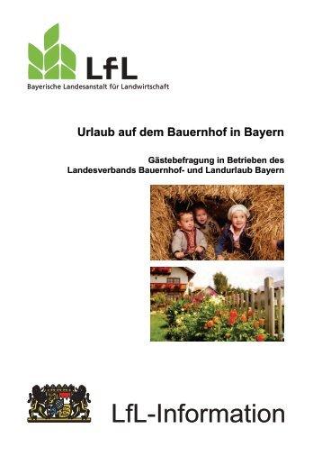 Die Publikation als PDF 975 KB - Bayerische Landesanstalt für ...