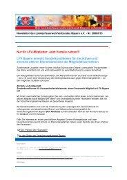 Newsletter 2008/015 - Landesfeuerwehrverband Bayern