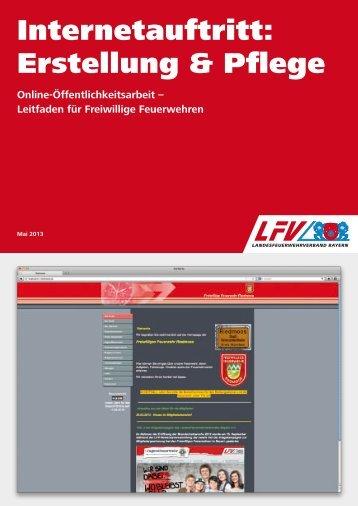 Internetauftritt: Erstellung & Pflege - Landesfeuerwehrverband Bayern