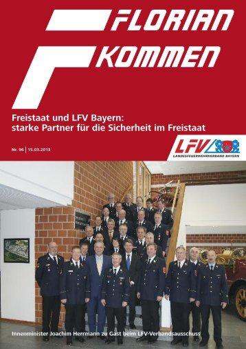 Florian kommen - Nr. 96 - Landesfeuerwehrverband Bayern