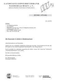 Bekanntmachung 2013/42 - Landesfeuerwehrverband Niedersachsen