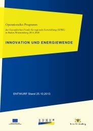 Entwurf Operationelles Programm 2014-2020 - LGL-Internet Startseite