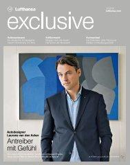 Antreiber mit Gefühl - Lufthansa Media Lounge: Home