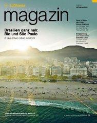 Rio und São Paulo - Lufthansa Media Lounge: Home