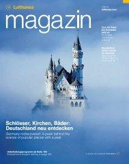 Schlösser, Kirchen, Bäder: Deutschland neu entdecken - Lufthansa ...