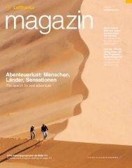 Abenteuerlust: Menschen, Länder, Sensationen - Lufthansa Media ...