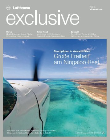 Große Freiheit am Ningaloo Reef - Lufthansa Media Lounge: Home