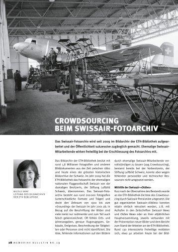 Crowdsourcing beim Swissair-Fotoarchiv (pdf, 224 ... - ETH-Bibliothek