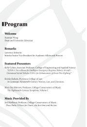 Program - University of Cincinnati Libraries