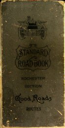 Standard Road-Book of New York State, Rochester Section
