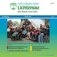 Sommer 2013 - Lichtenau e.V.