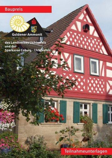 Teilnahmeunterlagen - Landkreis Lichtenfels