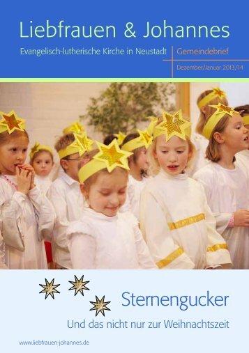 Gemeindebrief als PDF - Evangelisch-lutherische Kirche in Neustadt
